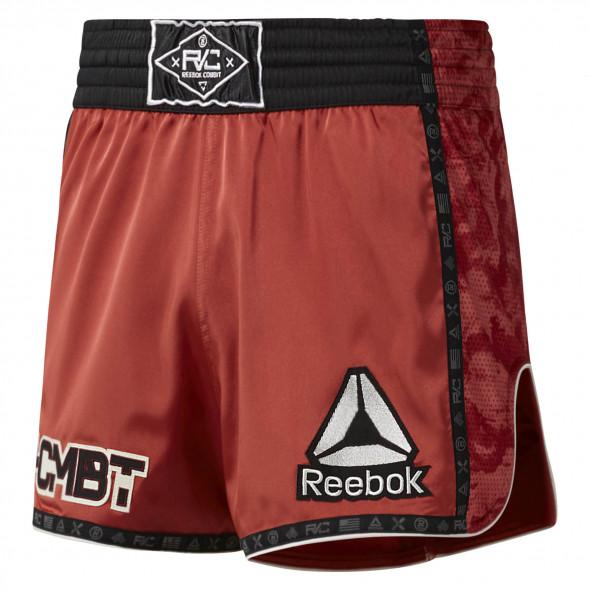 Short de Muay Thai Reebok Combat Prime Thai - Argile