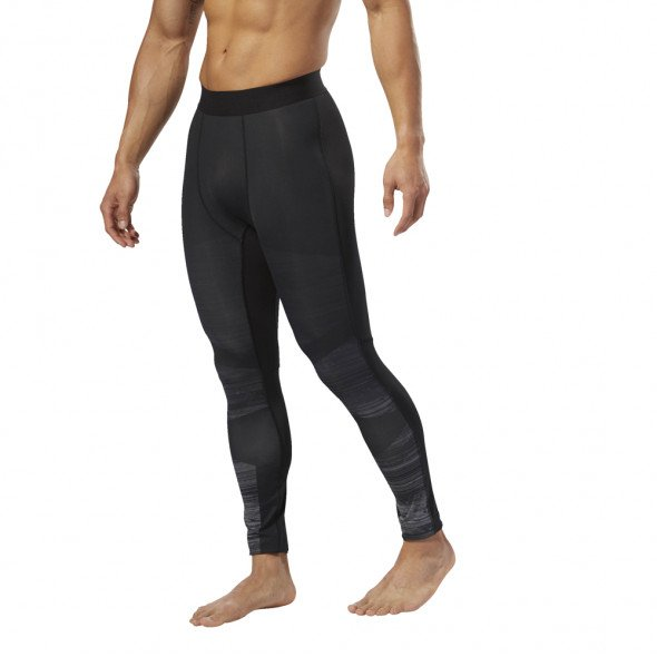 Pantalon de compression Reebok Speedwick - Noir