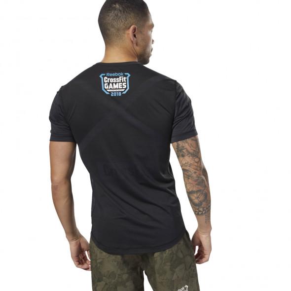 T-shirt Reebok Crossfit ActivChill - Noir