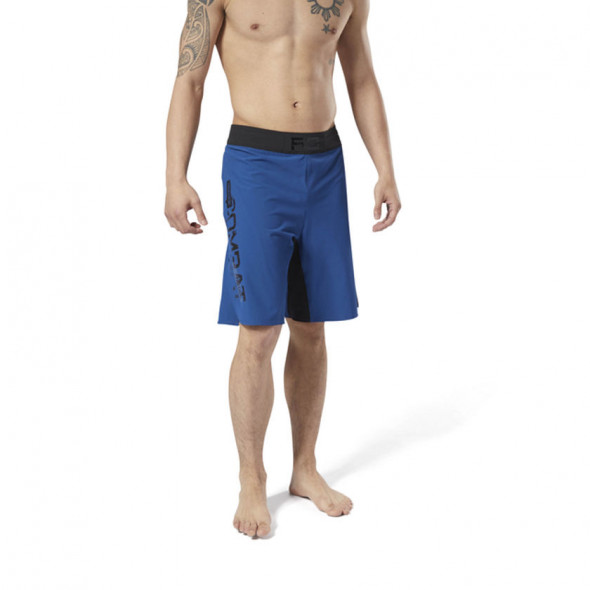 Short Combat MMA Reebok - Bleu