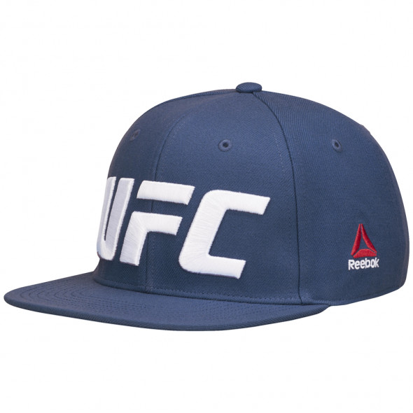 Casquette Reebok UFC Flat Peak - Bleu
