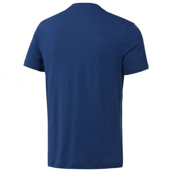 T-shirt Reebok avec logo UFC - Bleu