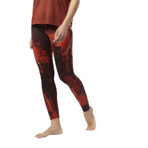 Legging Femme Reebok Combat Lux Bold - Orange