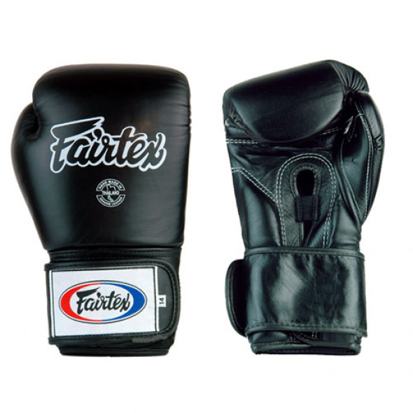 Fairtex  Boxing gloves for training - Black (FXV1)