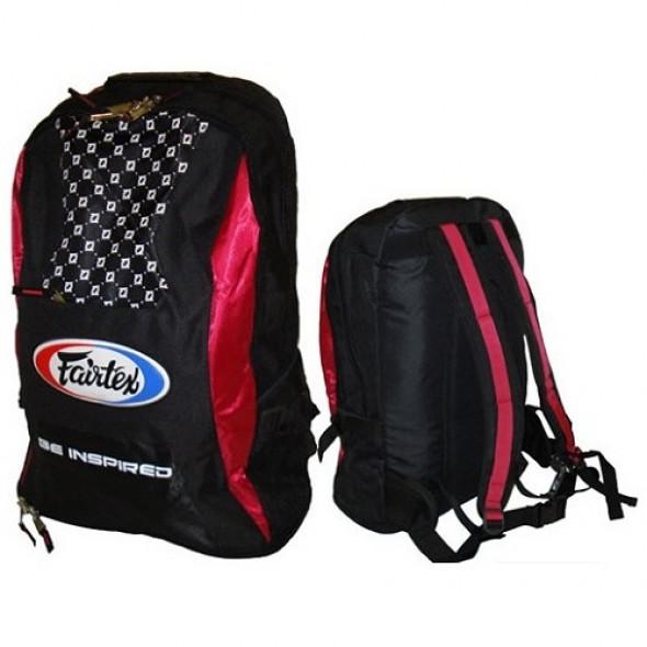 "Fairtex  Backpack ""BAG4"" - Black / Red"