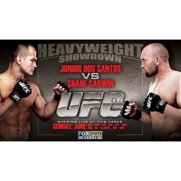 UFC 131- Junior Dos Santos vs. Shane Carwin (2 DVD)