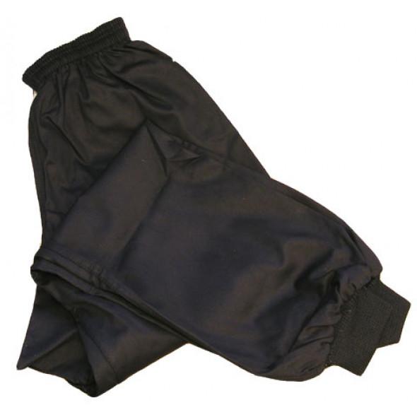Black Kung Fu Pants - Black – lower leg session tightened