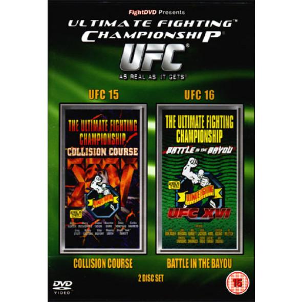 UFC 15 + UFC 16 (double DVD-VO)