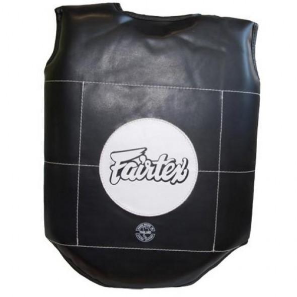 Fairtex  Chest and rib guards Thai Boxing - Black