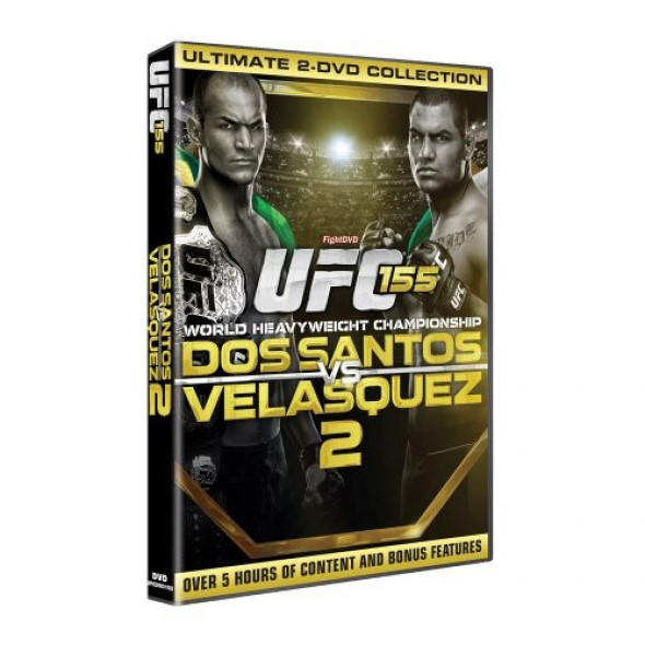 """DVD UFC 155 """"Dos Santos vs Velasquez"""""""