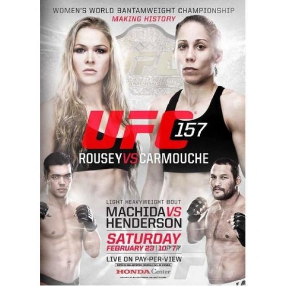 """DVD UFC 157 """"Roussey vs Carmouche"""""""