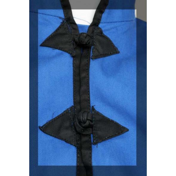Jacket for Kung-Fu Blue