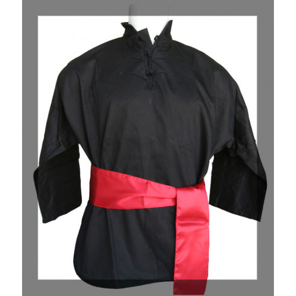 Jacket for Kung-Fu Black