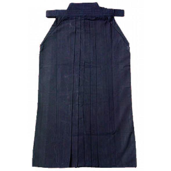 Hakama Aikido Kendo - Heavy cotton canvas - Blue night