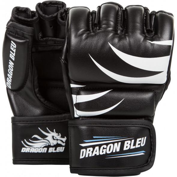 MMA gloves Dragon Bleu – Black
