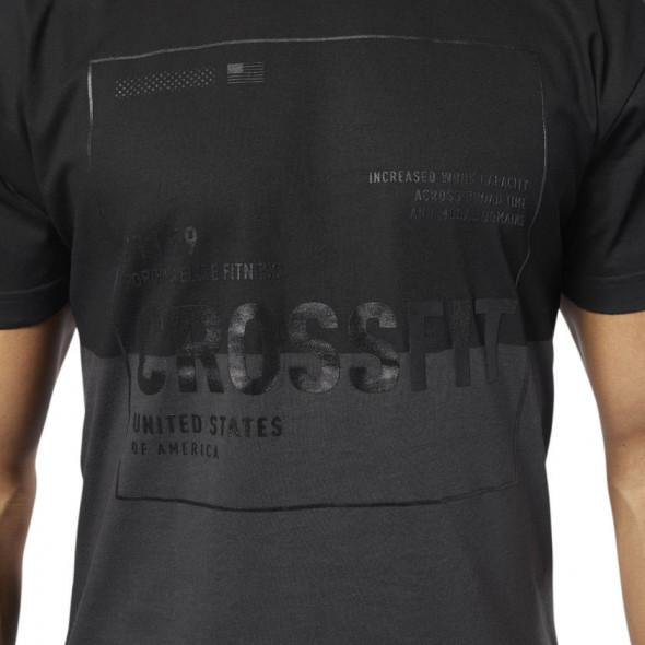 T-shirt Reebok Crossfit - Coal