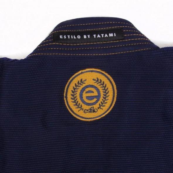 Kimono de JJB Tatami Fightwear Estilo 6.0 - Bleu marine/Doré