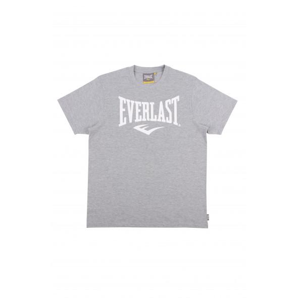 T-shirt Logo Heritage Everlast - Gris Clair