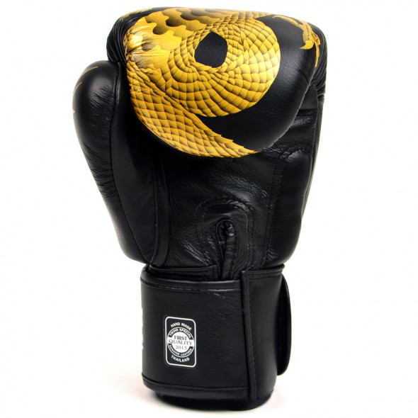 Gants de boxe Chinese Dragon - Twins - Noir