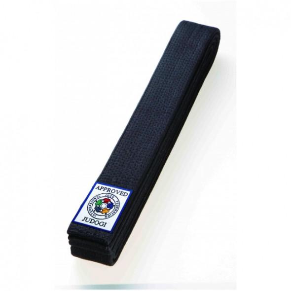 Obi belt-black for Judo Mizuno FIJ