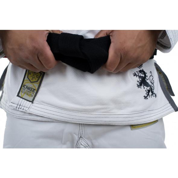 Kimono JJB Kingz Comp 450 V4 - Blanc