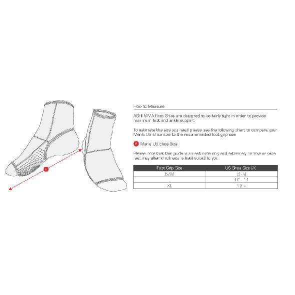 Guide des Tailles - Protection cheville