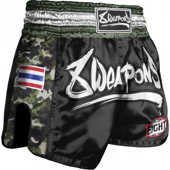 Short Muay Thai 8 Weapons Ultra Camo