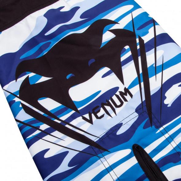 Venum Wave Camo Fightshorts - Blue