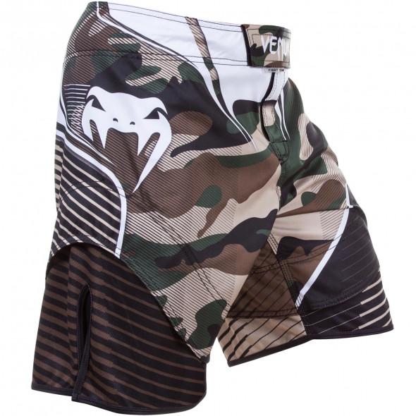 Venum Camo Hero Fight Shorts - Green/Brown