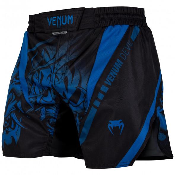 Venum Devil Fightshorts - Navy Blue/Black - Exclusive