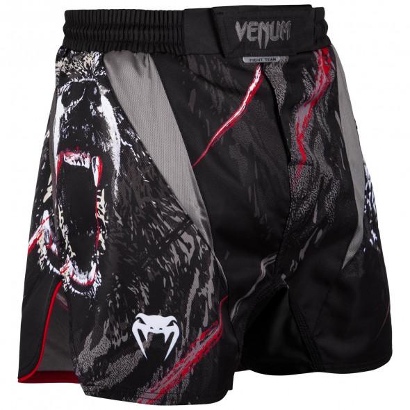 Venum Grizzli Fightshorts - Black/White