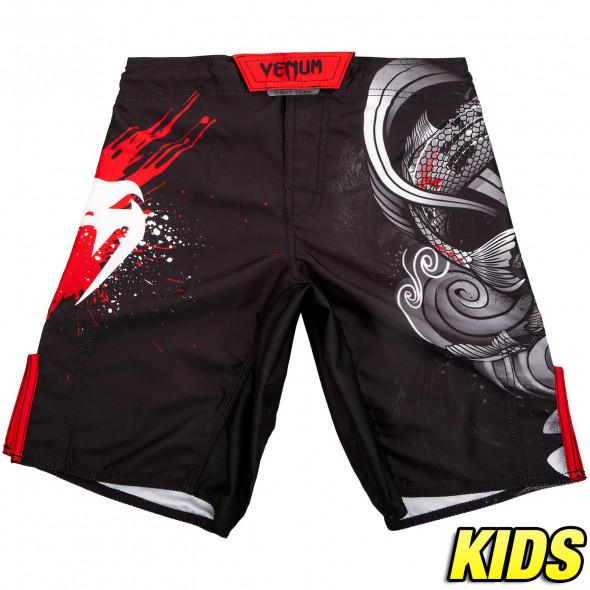 Venum Koi 2.0 Kids Fightshorts - Black/White