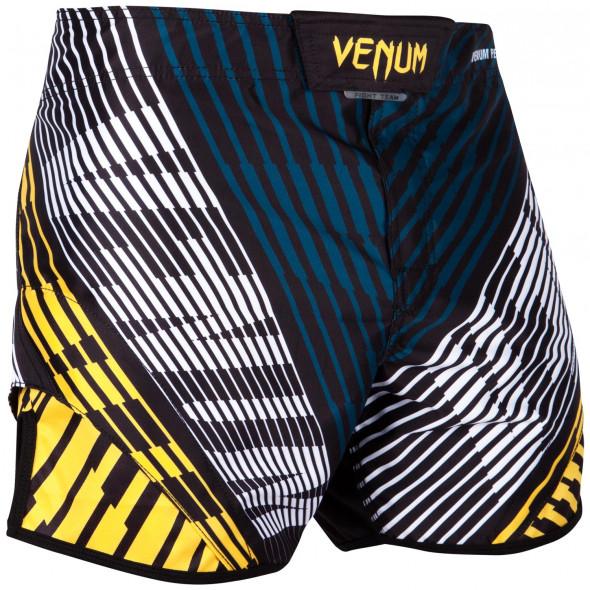 Venum Plasma Fightshorts - Black/Yellow