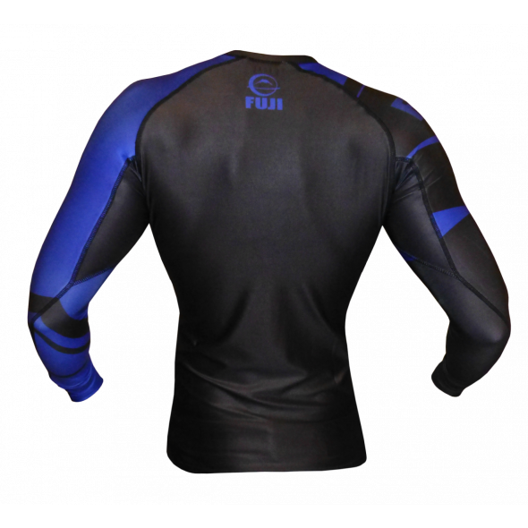 Rashguard Fuji Sports Freestyle IBJJF Ranked - Manches longues - Bleu