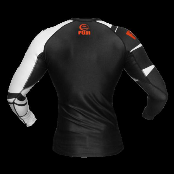 Rashguard Fuji Sports Freestyle IBJJF Ranked - Manches longues - Noir