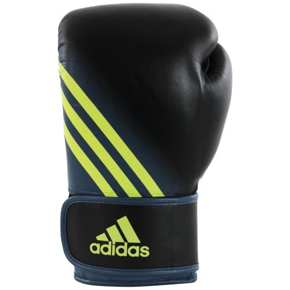 Gants de boxe Speed 100 Adidas - Noir/Jaune