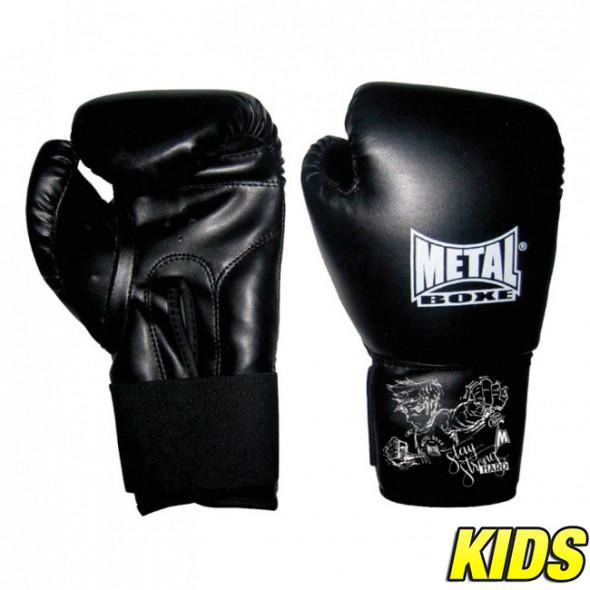 Gants de boxe Enfant Metal Boxe Baby - Noir