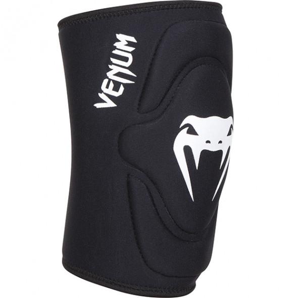 """Venum """"Kontact"""" Lycra/Gel Knee pads - Black"""
