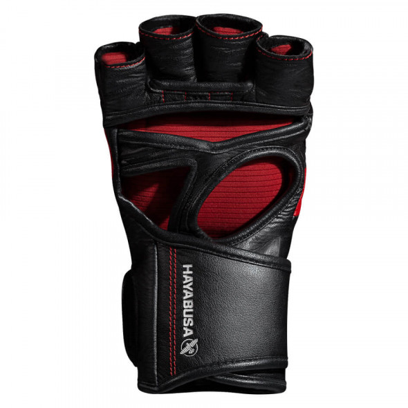 Hayabusa T3 MMA Gloves - Black/Red