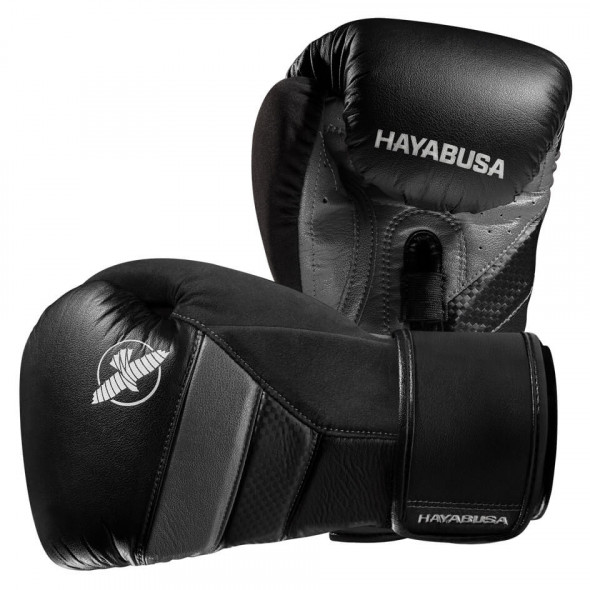 Hayabusa T3 Boxing Gloves - Black/Grey