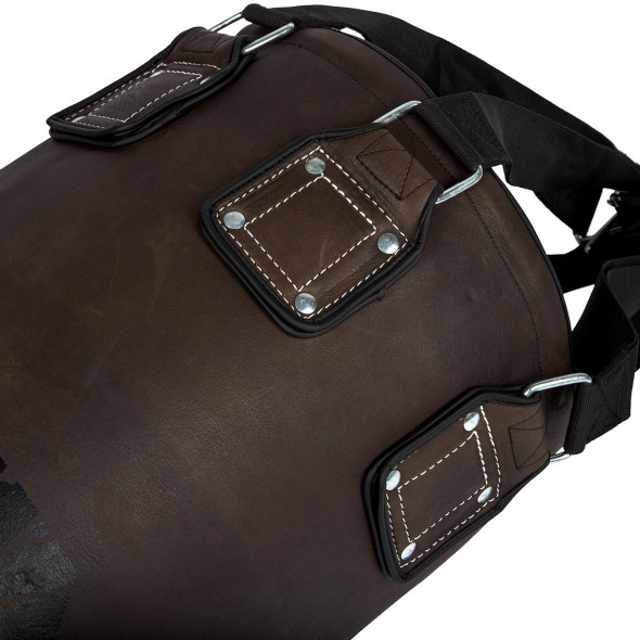 Venum Vintage Heavy Bag - Brown - Filled