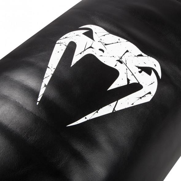 Venum Training Bag Leather - Black/White - Unfilled