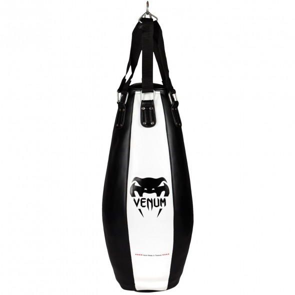 Venum Tear Drop Bag - Black/Ice - 95cm/30kg - Filled
