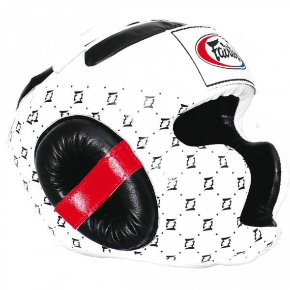 Fairtex Helmet for boxing  HG10 - White