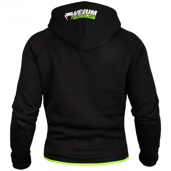 Venum Training Camp Sweatshirt - Black/Neo Yellow