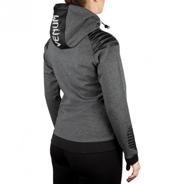 Venum Laser Hoody - Dark Heather Grey - For Women - Exclusive