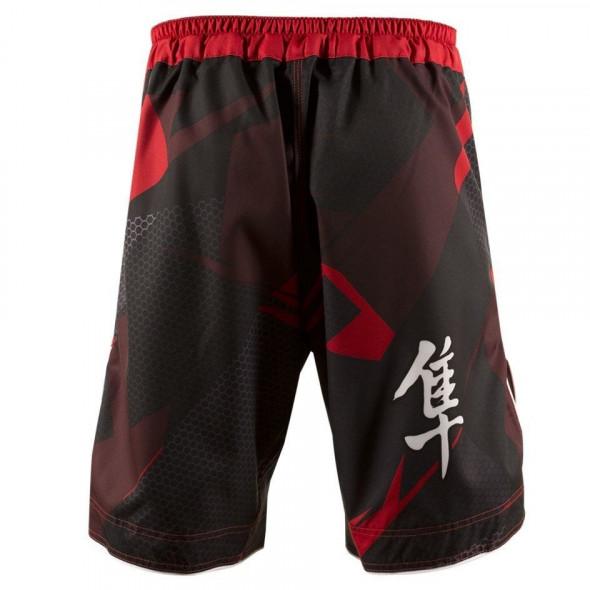 "MMA Hayabasu ""Metaru Performance"" Short – Black/Red"