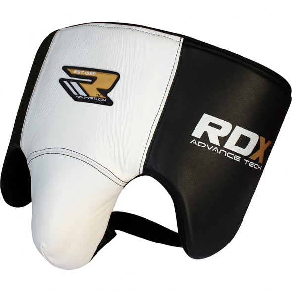Coquille RDX Sports Boxe Anglaise - Blanc/Noir