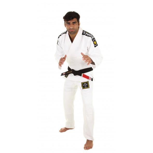Kimono JJB Kingz Basic 2.0 - Blanc