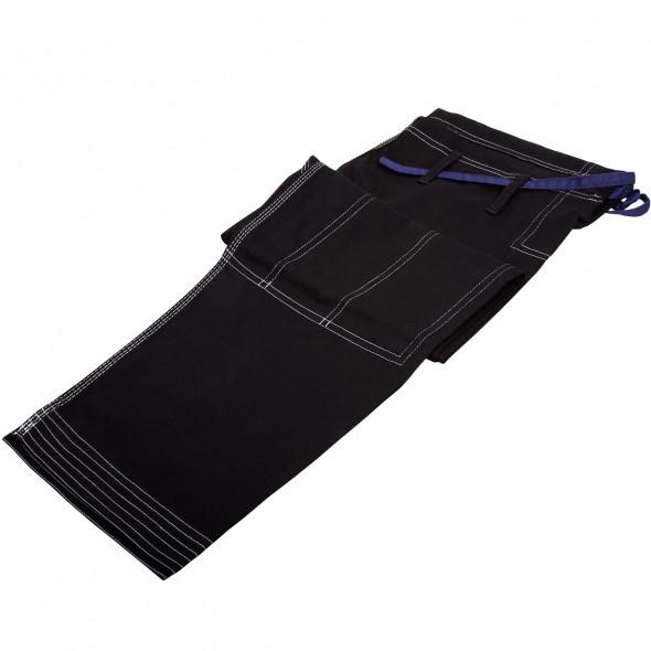 Kimono JJB Dragon Bleu - Noir